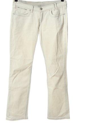Levi's Jeansy z prostymi nogawkami w kolorze białej wełny W stylu casual
