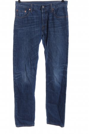 Levi's Straight Leg Jeans blue casual look
