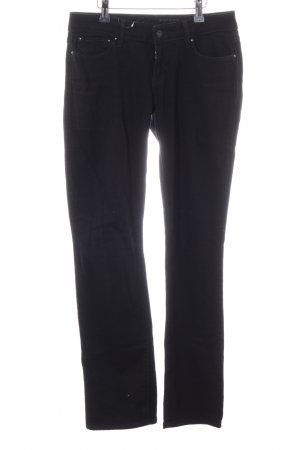 Levi's Straight-Leg Jeans schwarz Jeans-Optik