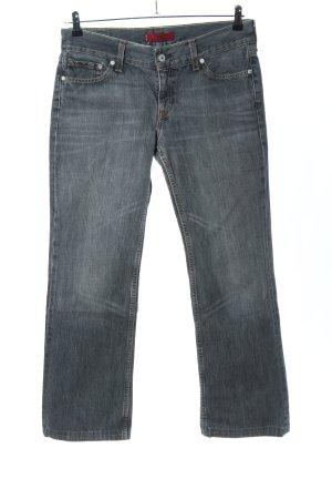 Levi's Straight-Leg Jeans hellgrau Casual-Look