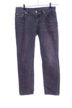 Levi's Jeans a gamba dritta grigio chiaro puntinato stile casual