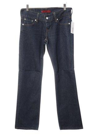 Levi's Jeansy z prostymi nogawkami ciemnoniebieski Jeansowy wygląd