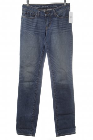 Levi's Jeansy z prostymi nogawkami ciemnoniebieski Sprane wykończenie