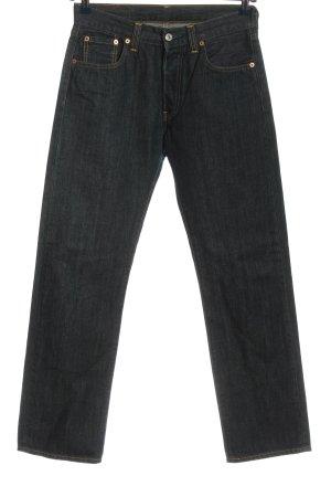 Levi's Jeansy z prostymi nogawkami czarny W stylu casual