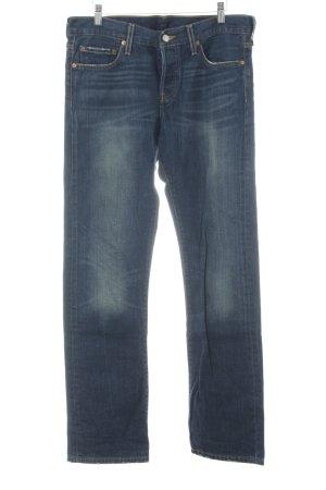 Levi's Jeansy z prostymi nogawkami stalowy niebieski W stylu casual