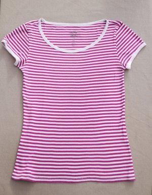 Levi's Stripe Shirt violet-white cotton
