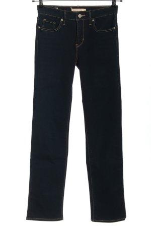 Levi's Stretch Jeans blau Casual-Look