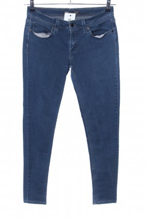 Levi's Stretch jeans blauw casual uitstraling