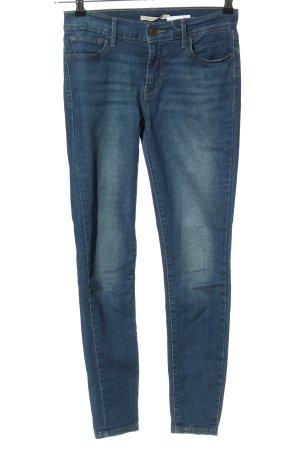 Levi's Stretchhose blau Casual-Look