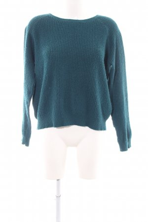 Levi's Strickpullover blau Zopfmuster Casual-Look