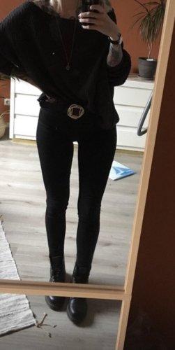 Levi's Super Skinny Mile High Jeans Schwarz Gr. 28/32