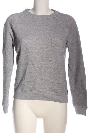 Levi's Sweatshirt hellgrau meliert Casual-Look