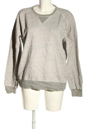 Levi's Suéter gris claro moteado look casual