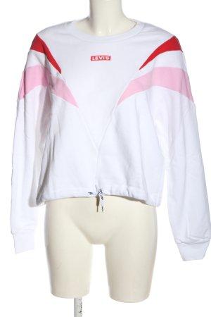 Levi's Sweatshirt Motivdruck Casual-Look