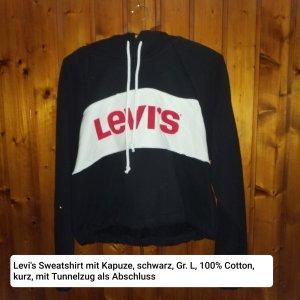 Levi's Koszulka z kapturem czarny