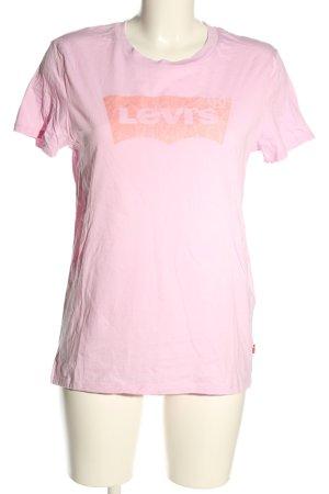 Levi's T-Shirt pink Motivdruck Casual-Look