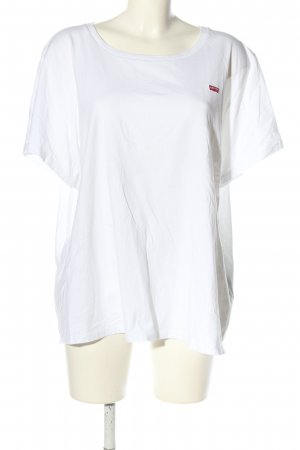 Levi's T-Shirt weiß Casual-Look