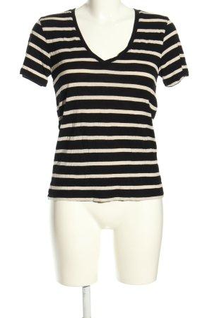 Levi's T-Shirt schwarz-weiß Allover-Druck Casual-Look