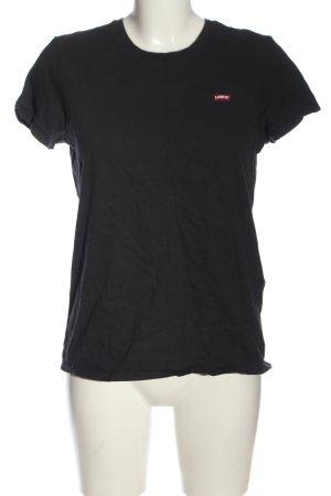 Levi's T-Shirt black casual look
