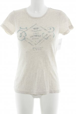 Levi's T-Shirt creme Casual-Look