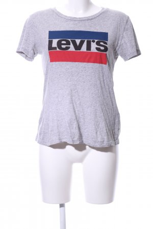 Levi's T-Shirt platzierter Druck sportlicher Stil