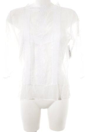 Levi's Transparenz-Bluse wollweiß Spitzen-Optik