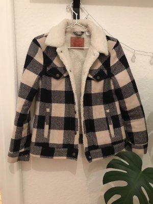 Levi's Fur Jacket white-dark blue