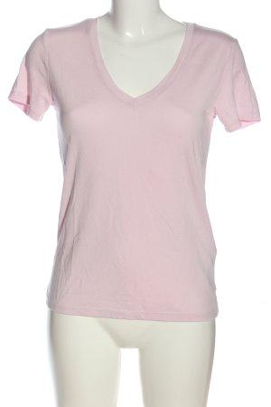 Levi's V-Ausschnitt-Shirt pink Casual-Look