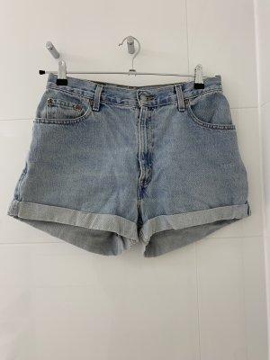 Levi's Pantaloncino di jeans azzurro