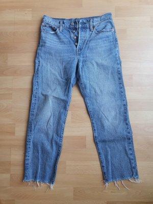 Levi Strauss & Co High Waist Trousers blue