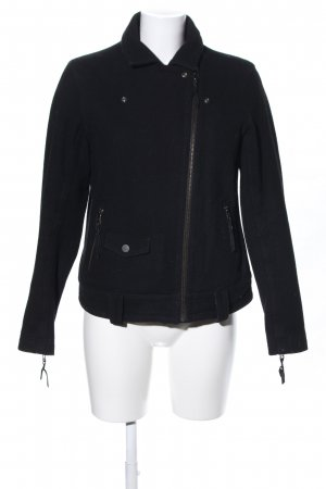 Levi's Wool Jacket black street-fashion look