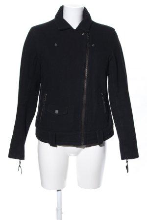 Levi's Chaqueta de lana negro look Street-Style
