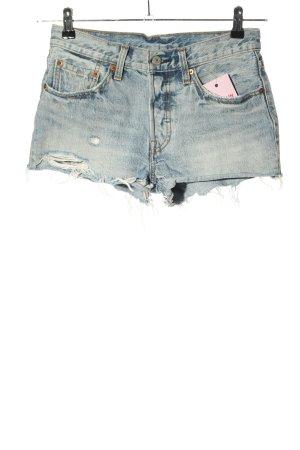 LEVI STRAUSS & CO Pantaloncino di jeans blu-grigio chiaro stile casual