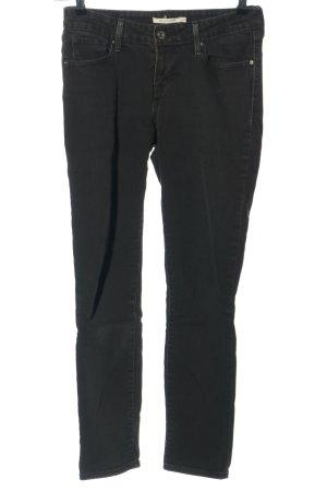 LEVI STRAUSS & CO Jeans skinny nero stile casual
