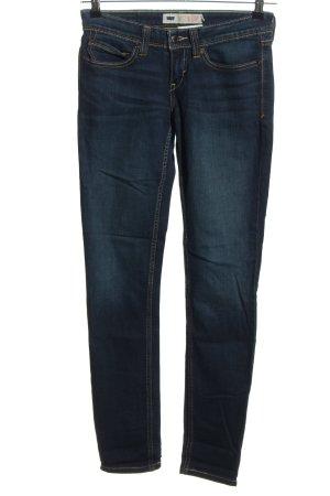 Levi's Jeansy ze stretchu niebieski W stylu casual