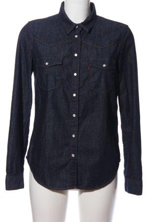 levi strauss & go Jeansowa koszula niebieski W stylu casual