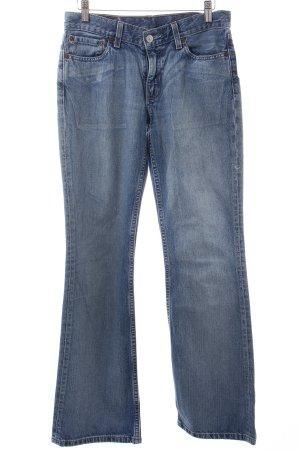 Levi's Jeansowe spodnie dzwony jasnoniebieski W stylu casual