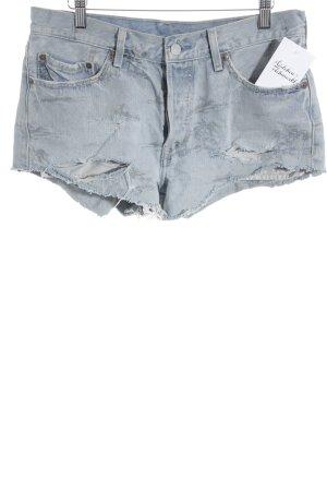 Levi Strauss Jeans met rechte pijpen lichtblauw ontspannen stijl