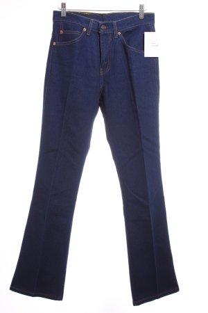 Levi's Jeansy z prostymi nogawkami ciemnoniebieski W stylu casual
