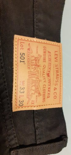 Levi's Jeans svasati nero