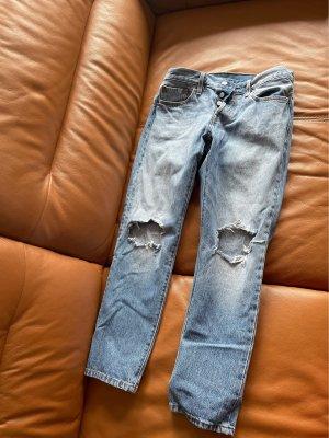 Levi Strauss & Co Jeans carotte bleuet