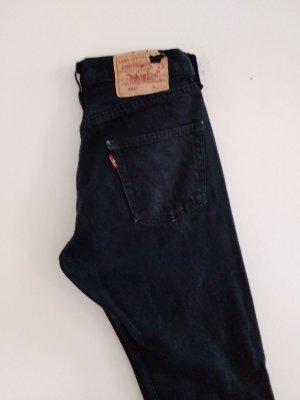 LEVI STRAUSS & CO Boyfriend jeans zwart