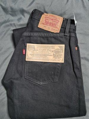Levi's Pantalone a vita alta nero