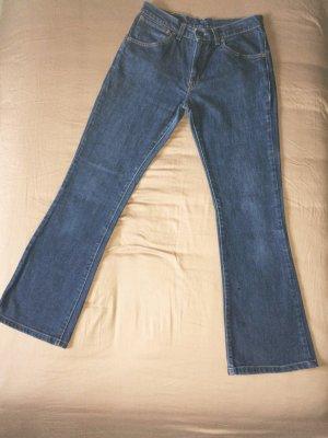Levi's Vaquero de corte bota azul oscuro Algodón
