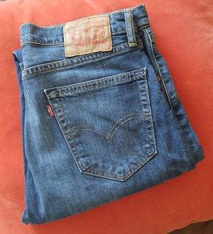 Levi's Jeansy z prostymi nogawkami stalowy niebieski
