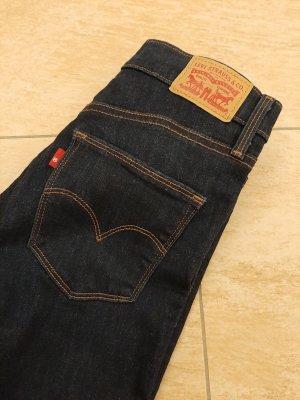 Levi's Jeans slim bleu foncé tissu mixte