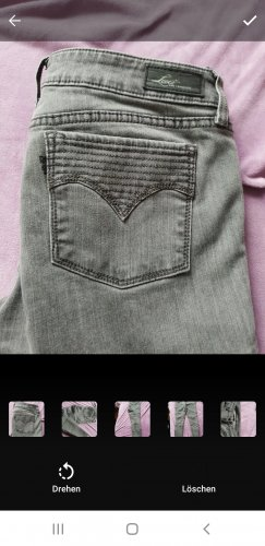 Levi's Tube jeans grijs