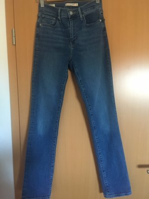 Levi's Jeans met rechte pijpen staalblauw-korenblauw