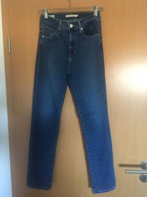 Levi's Jeans met rechte pijpen blauw