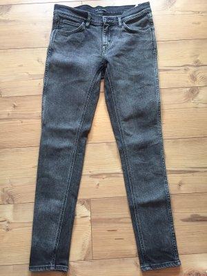 Levis Jeans grau/schwarz Größe 27/30